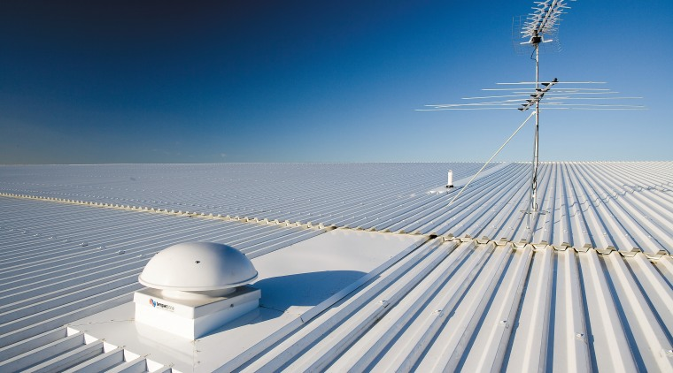 A view of the Dimond roofing. atmosphere of earth, cloud, daytime, energy, fixed link, horizon, line, sea, sky, wind, blue, gray