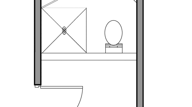 A view of the bathroom before it was angle, area, design, diagram, drawing, font, line, product, product design, square, text, white, white