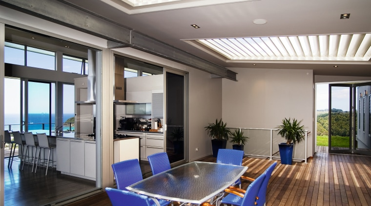 A view of a home by Creative Architecture. ceiling, daylighting, interior design, property, real estate, window, gray