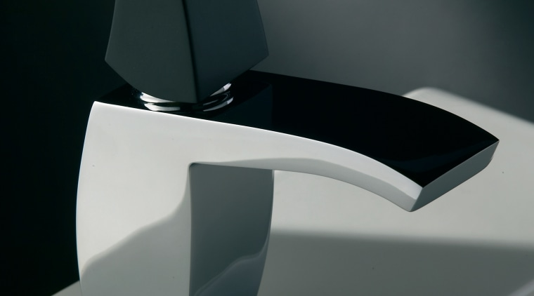 A view of some tapware by Webert Rubinetteria. angle, automotive design, automotive exterior, design, hardware, motor vehicle, personal luxury car, plumbing fixture, product, product design, tap, black, gray
