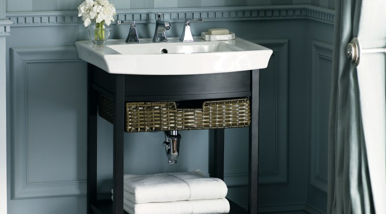 The Sculptural forms of pedestal basins ensure they bathroom, bathroom accessory, bathroom cabinet, kitchen stove, plumbing fixture, sink, black, gray