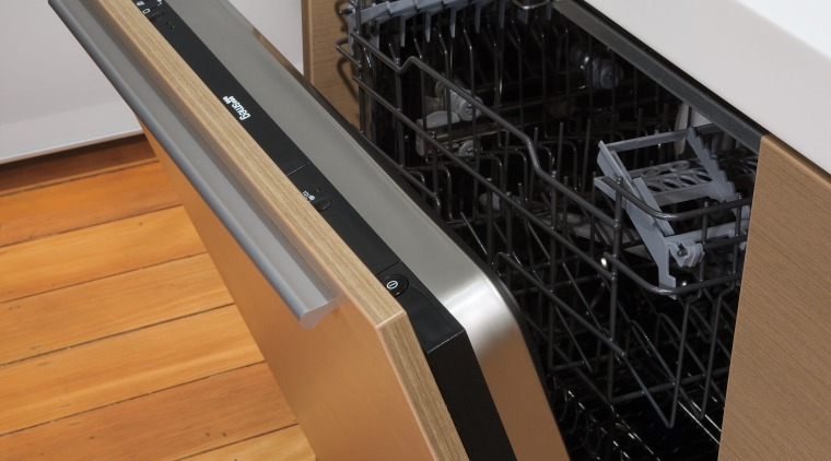 A view of the modern Smeg stainless steel floor, furniture, home appliance, kitchen appliance, product design, brown