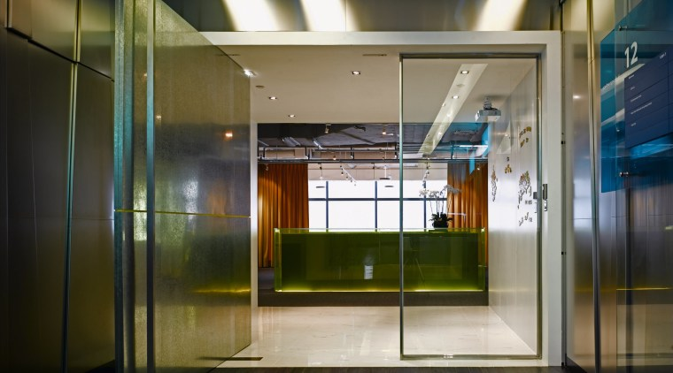 Encouraging playfulness and the pooling of staff ideas architecture, ceiling, glass, interior design, lobby, brown