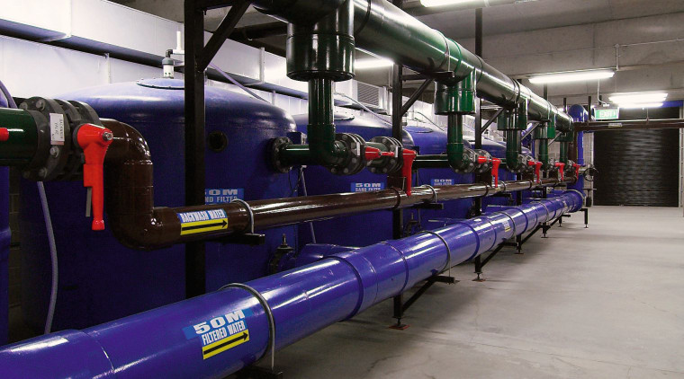 A view of water filtration and regulation systems public transport, transport, gray, black
