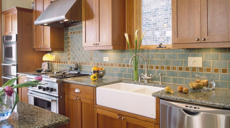 Designs-of-Distinction by Brown Wood Products is a complete cabinetry, countertop, cuisine classique, flooring, interior design, kitchen, real estate, room, brown