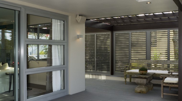 Weather-tight cladding has been applied to the exterior architecture, ceiling, daylighting, floor, flooring, house, interior design, real estate, window, gray