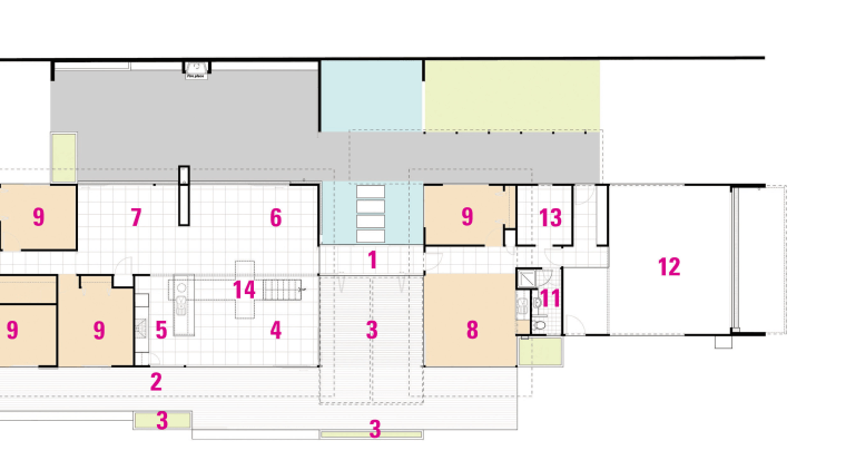 A view of a plan of the home. area, design, diagram, floor plan, line, plan, product design, square, white