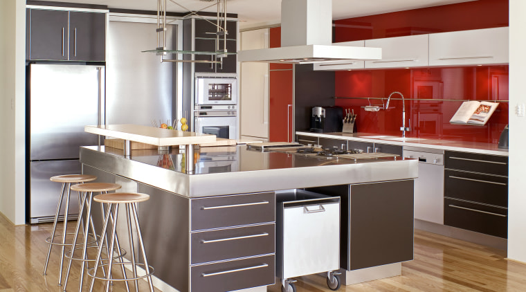This Kitchen designed by Eva Andrews of interantional cabinetry, countertop, cuisine classique, interior design, kitchen, room, white