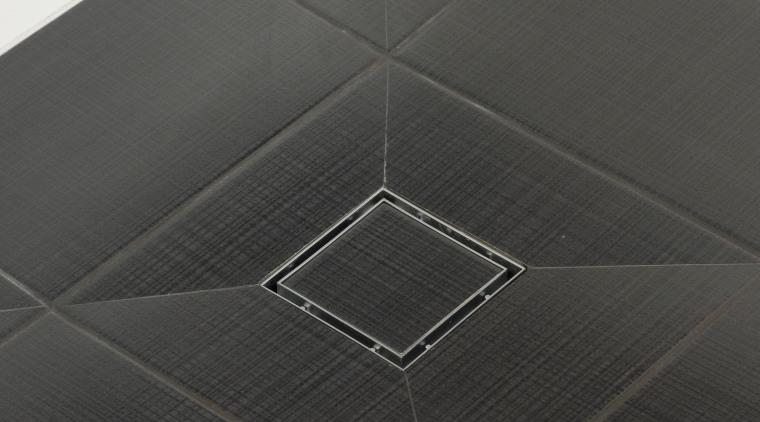 Image of tiling done by Lifestyle Designer Tiles. angle, black, black and white, floor, flooring, line, product design, tile, black