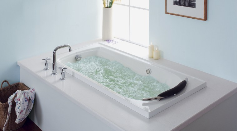Now you can recreate a relaxing spa experience bathroom, bathroom sink, bathtub, plumbing fixture, product, product design, room, sink, tap, gray