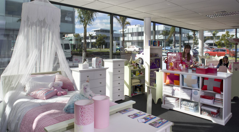 The new Tesori Children's Furniture store in Mairangi furniture, interior design, gray