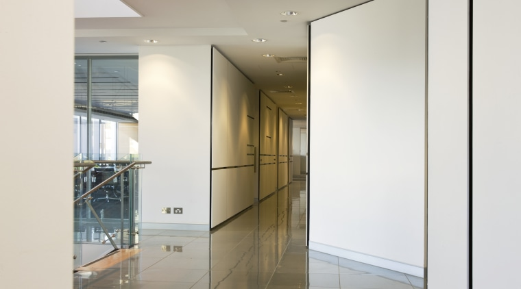 USG Powerscape Health Linings, finished with with a architecture, door, glass, interior design, property, real estate, window, white