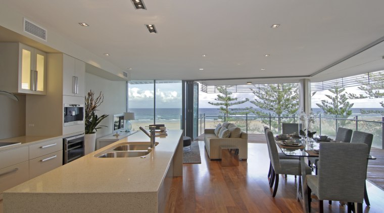 Pikos group offers a trilogy of apartments at apartment, architecture, ceiling, daylighting, house, interior design, penthouse apartment, property, real estate, window, gray, brown