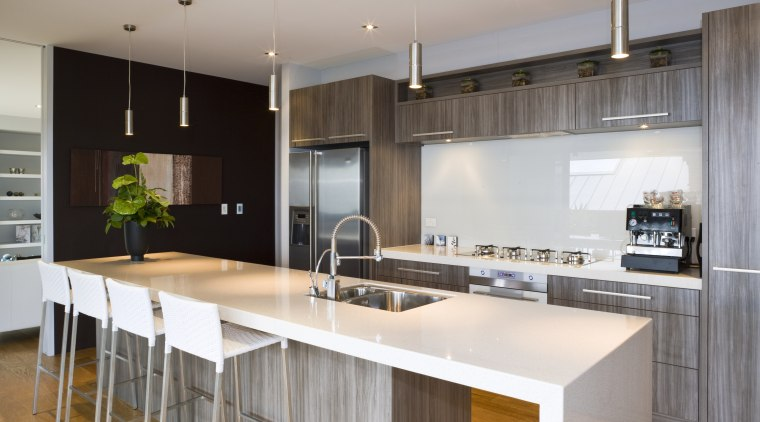View of a kitchen which features appliances from cabinetry, countertop, cuisine classique, interior design, kitchen, real estate, gray