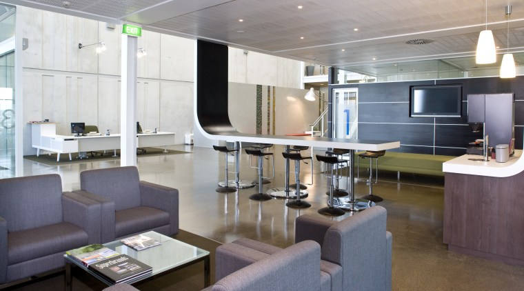 Interior of Office max offices featuring office furniture, interior design, office, gray