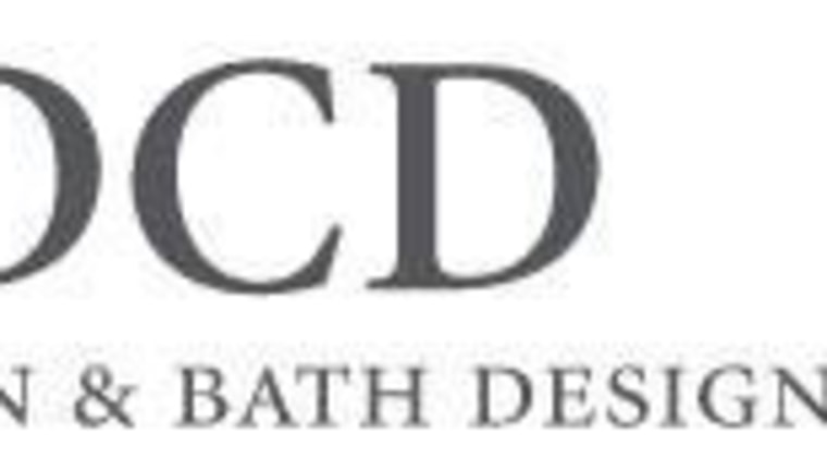 View of DCD Kitchen and Bath studio logo area, brand, font, line, logo, product, text, white