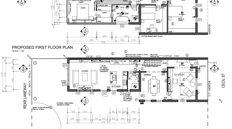 View of the plans for the kitchen. area, artwork, black and white, design, diagram, drawing, floor plan, line, plan, product design, technical drawing, text, white