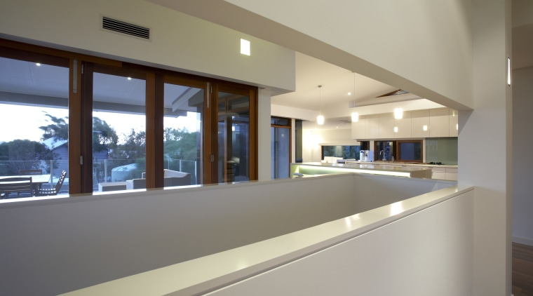 Interiot view of a family home designed and architecture, daylighting, estate, house, interior design, property, real estate, window, gray
