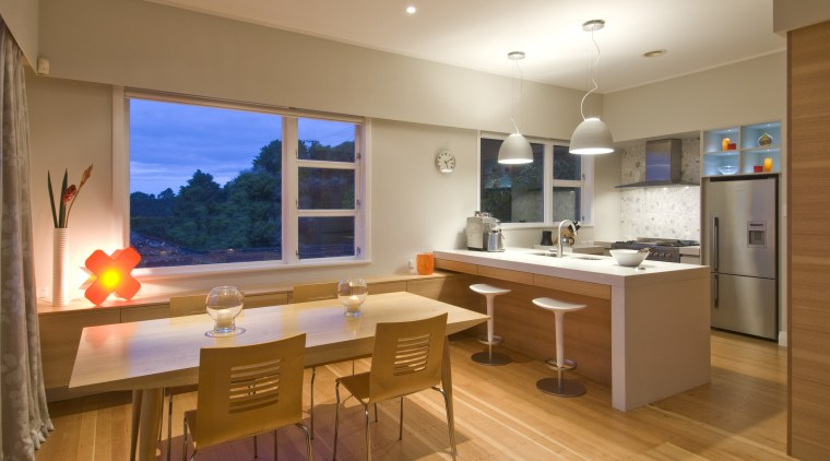 View of a kitchen designed by Pauline Stockwell countertop, interior design, kitchen, real estate, room, brown, orange