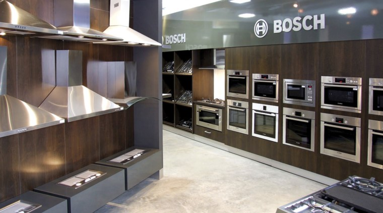 View of a Kitchen Things showroom which features interior design, gray, black, white