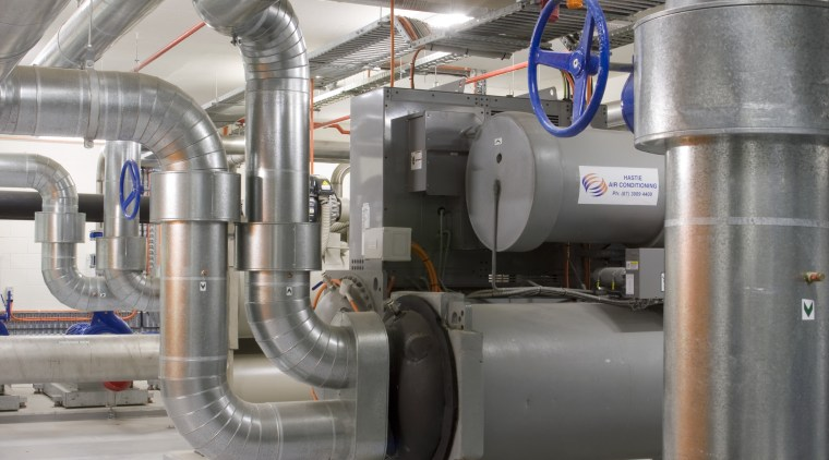 Hastie Air Conditioning supplied the clean air and engineering, factory, industry, machine, manufacturing, pipe, gray