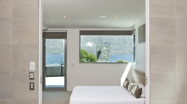 Interior view of this contemporary bathroom architecture, bathroom, floor, house, interior design, room, gray