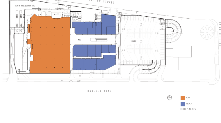 Fairview Green Shopping Centre, Fairview Park, WA area, diagram, elevation, floor plan, line, plan, product design, text, white
