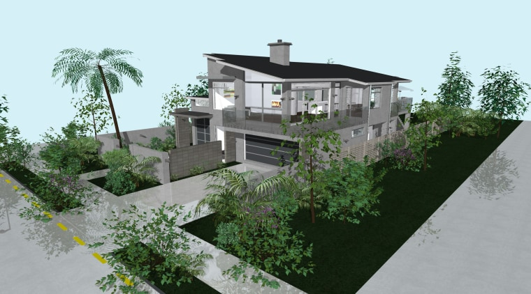 Under construction architecture, elevation, estate, home, house, neighbourhood, property, real estate, residential area, roof, tree, urban design, villa, white