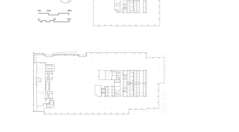 View of the architectural plans for the Bank angle, area, design, diagram, font, line, pattern, product, product design, rectangle, structure, text, white