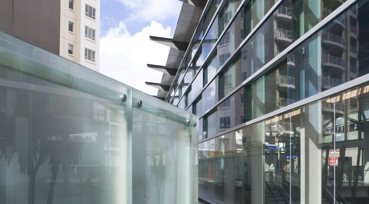 View of glass systems included in the New apartment, architecture, building, condominium, facade, glass, house, metropolitan area, mixed use, neighbourhood, real estate, residential area, window, gray