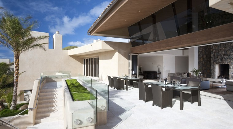 View of Fisher & Paykel barbeque. apartment, architecture, condominium, estate, home, house, interior design, property, real estate, residential area, resort, villa, white