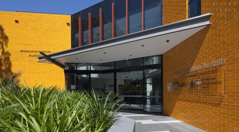 Exterior view of the Poche Centre which was architecture, building, facade, home, house, real estate, residential area, brown