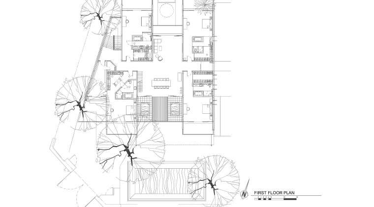 This house was designed by Dr Tan Loke angle, area, black and white, design, diagram, drawing, floor plan, line, line art, monochrome, plan, product, product design, sketch, structure, white