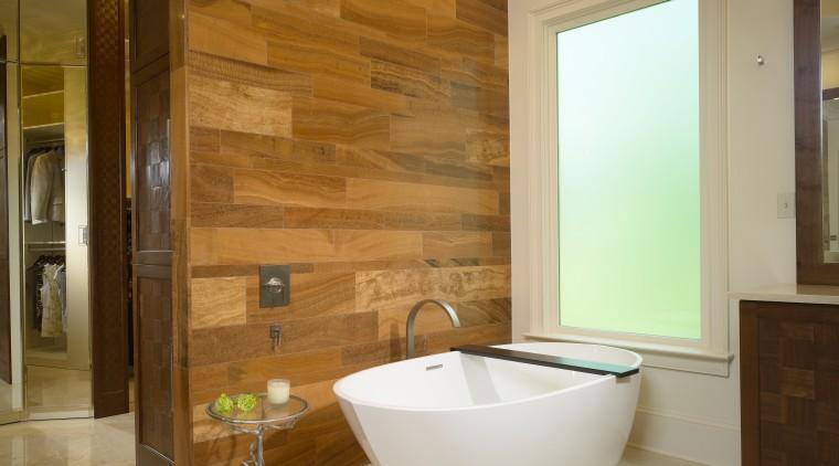 This bathroom has been remodeled by Douglas Weiss bathroom, floor, flooring, home, interior design, plumbing fixture, room, tile, wall, brown
