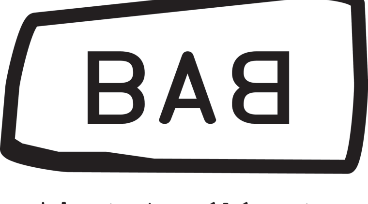 This is the Babbage Consultants' logo. area, black and white, brand, font, line, logo, product, product design, sign, signage, technology, text, white