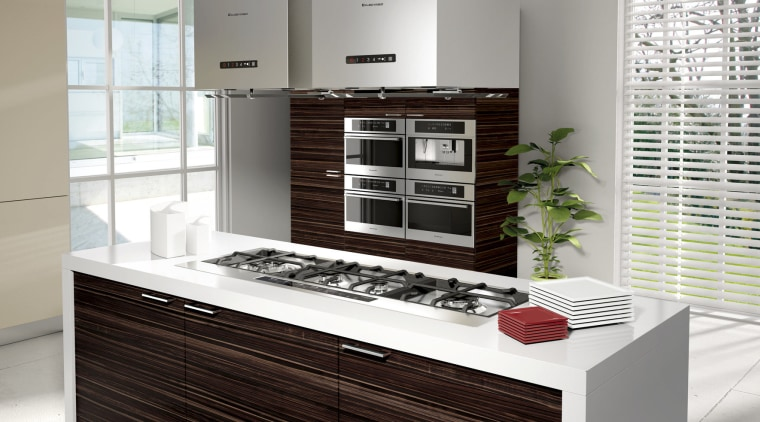 Here is a view of Kleenmaid's appliances in cabinetry, countertop, cuisine classique, furniture, home appliance, interior design, kitchen, kitchen appliance, white