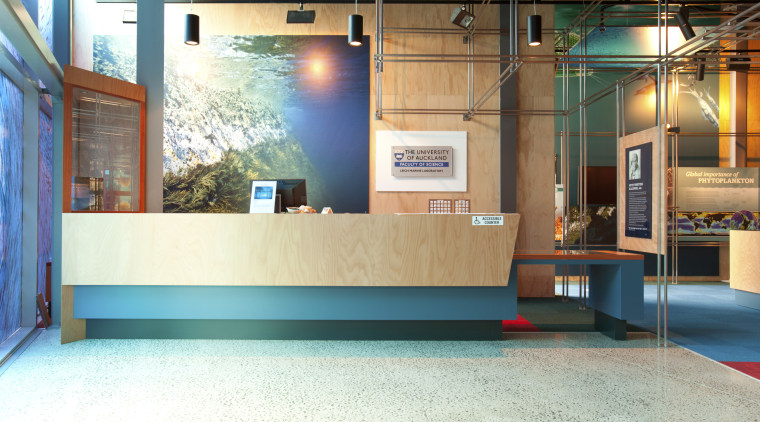 View of reception area with turquoise accents. floor, flooring, interior design, white