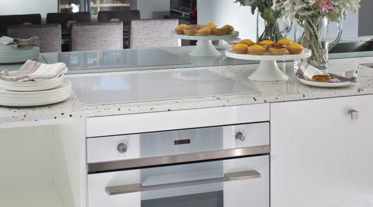 this is another smeg oven cabinetry, countertop, cuisine classique, home appliance, interior design, kitchen, kitchen appliance, kitchen stove, major appliance, refrigerator, room, gray