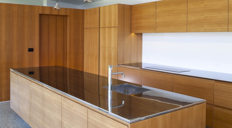 A close up view of the entire kitchen. cabinetry, countertop, furniture, interior design, kitchen, plywood, product, product design, wood, white