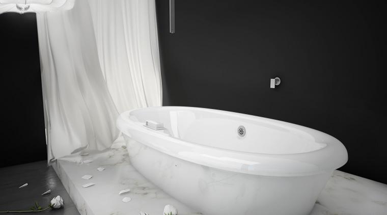 BainUltra ThermaSens therapeutic bath bathroom, bathroom sink, bathtub, bidet, plumbing fixture, product design, tap, toilet seat, black, gray