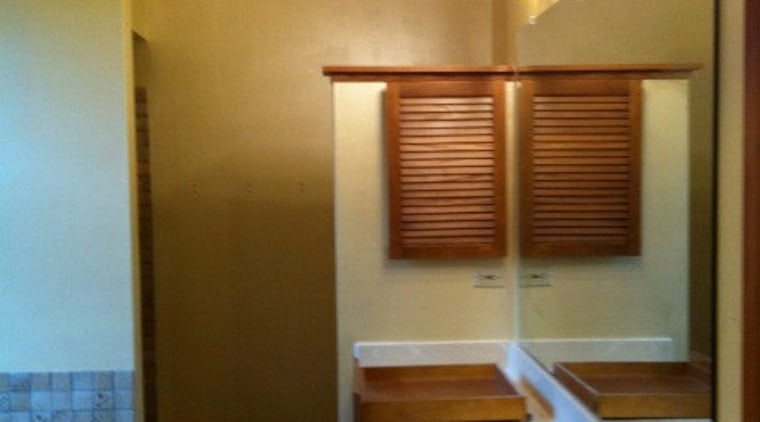 Before shot bathroom, ceiling, floor, home, house, interior design, room, brown, orange