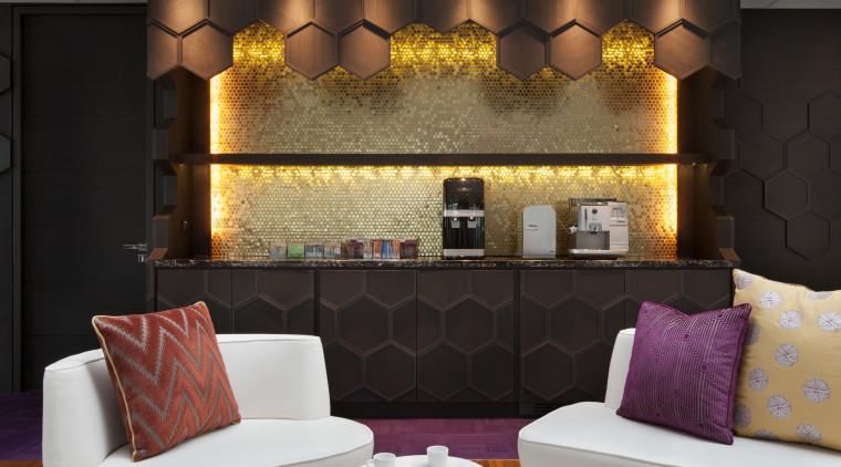 AkzoNobel House (Singapore) Interior design couch, furniture, interior design, living room, table, wall, gray