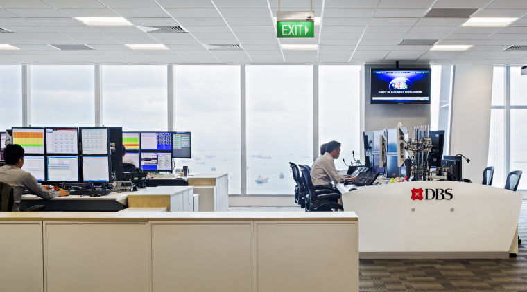 View of The Exchange at DBS Asia Central institution, office, white, gray