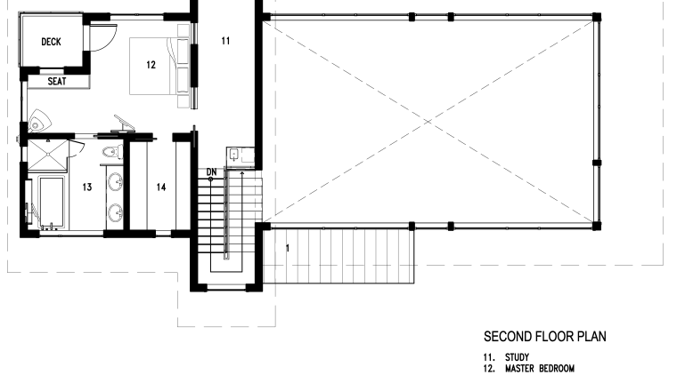 Transparent modern new home angle, area, black and white, design, diagram, drawing, floor plan, font, line, product design, square, text, white