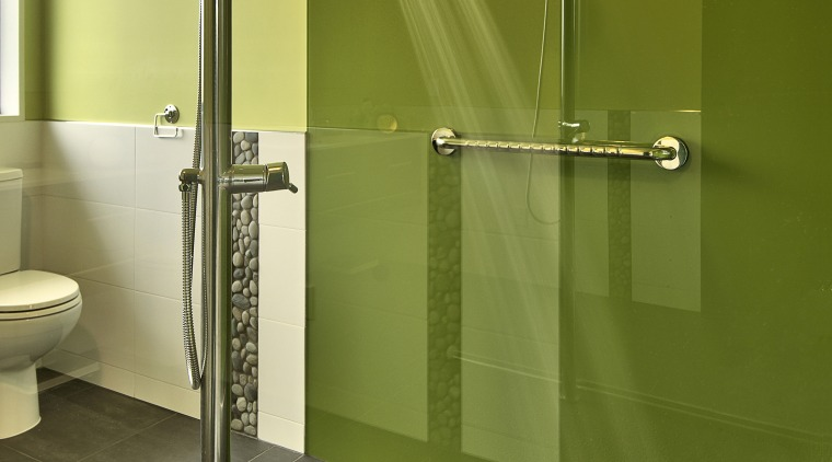 Innovative shower system by Aquapole bathroom, floor, glass, interior design, plumbing fixture, product design, room, tap, wall, brown