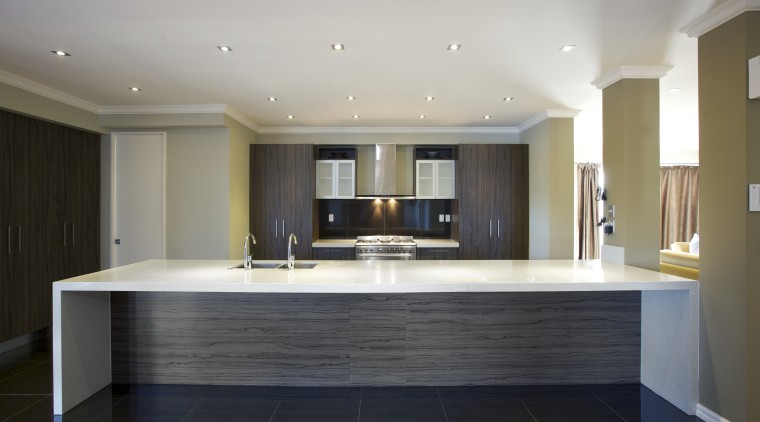 Holistic approach  comprehensive service from Apollo Kitchens ceiling, countertop, floor, flooring, interior design, kitchen, real estate, room, wood flooring, gray, black
