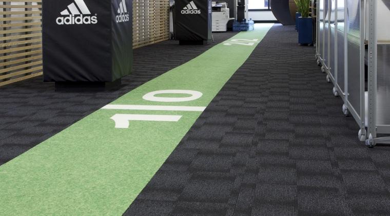 All Black Coverage  custom floor for NZRU carpet, floor, flooring, grass, green, black, gray