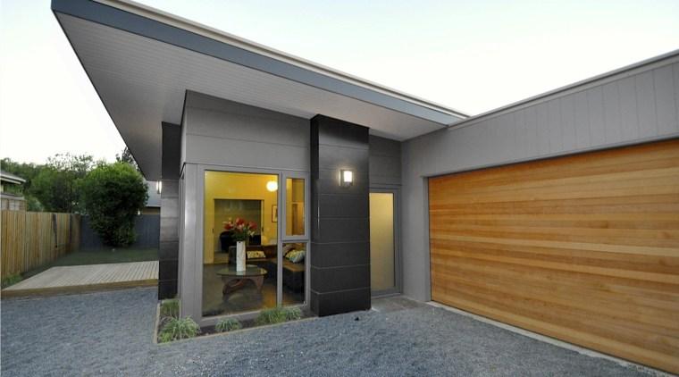 Raising the benchmark  Homestar green initiatives - architecture, facade, home, house, property, real estate, gray, white
