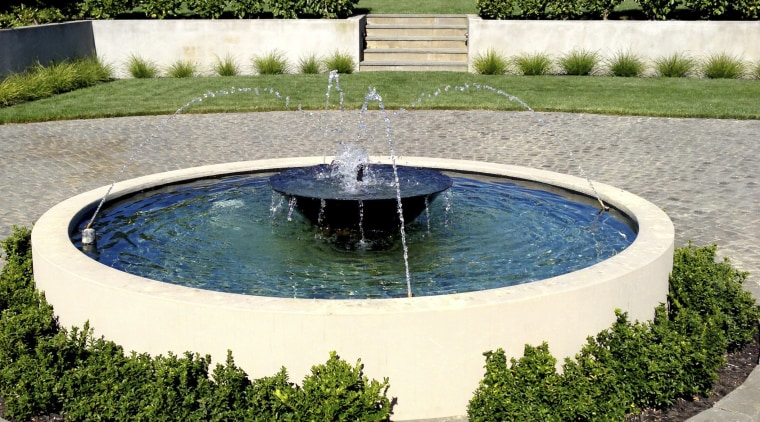 Waterworks Irrigation offers myriad individual water features estate, landscape, landscaping, leisure, reflecting pool, swimming pool, tree, water, water feature, water resources, gray