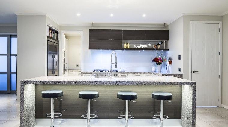 Inside Vision kitchen with Smeg appliance - Inside countertop, cuisine classique, interior design, kitchen, real estate, room, white, gray